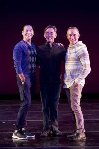 L-R Ricardo Melendez, David Hochoy & Todd Rosenlieb