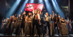 Les Miserables onstage