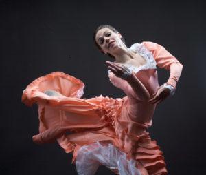 Caitlin Negron dancing